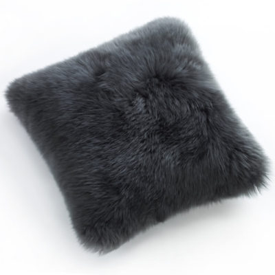 SheepskinPillowGrey